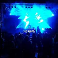 Dictam HD Photo Live at Wead Festival 2018 Stage Banner